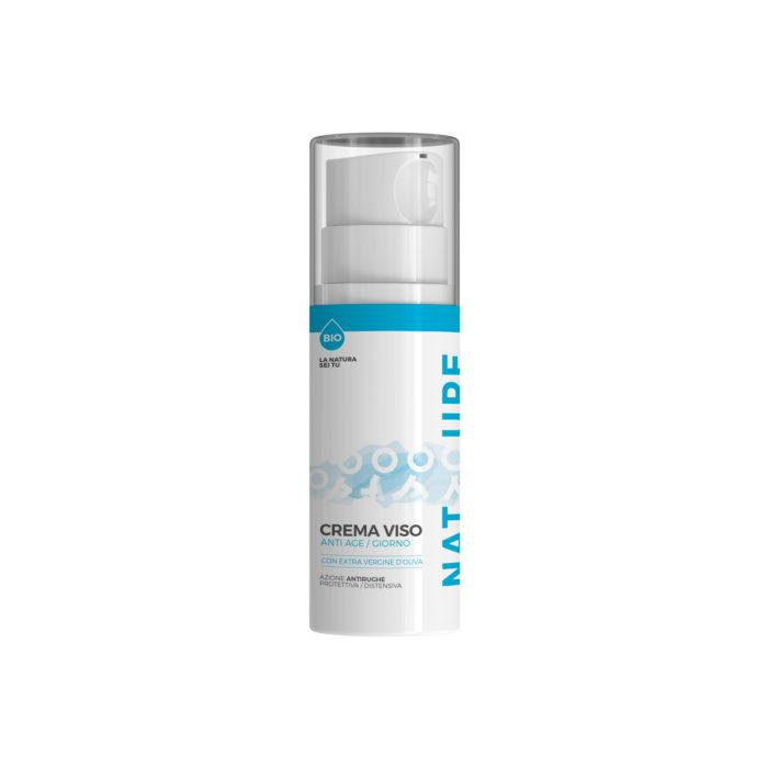 Crema Viso Antiage / Giorno CON OLIO EXTRAVERGINE D'OLIVA - Cosmetici Online - Natyoure