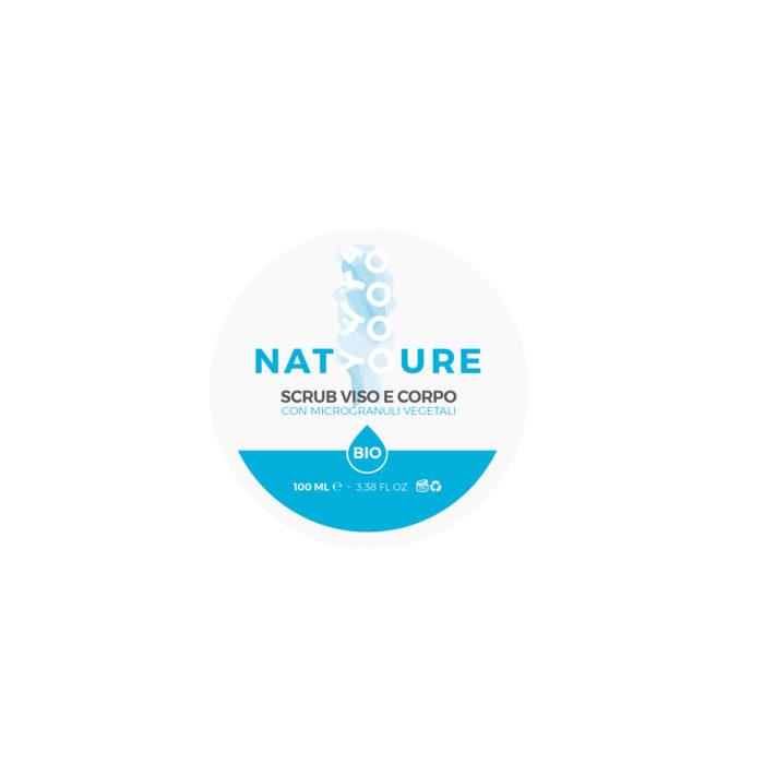 Scrub Vegetali Viso Corpo - Natyoure la Natura sei Tu